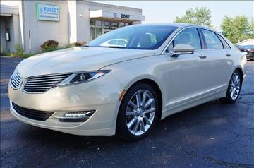 2015 Lincoln MKZ Hybrid for sale in Twinsburg, OH