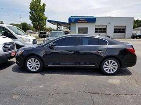 2014 Buick LaCrosse for sale at Holiday Rent A Car in Hobart IN
