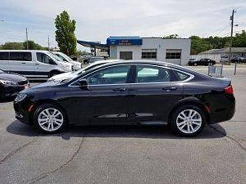 2016 Chrysler 200 for sale at Holiday Rent A Car in Hobart IN