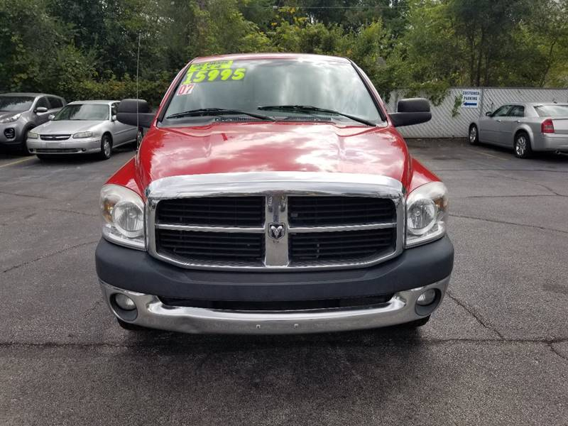 2007 Dodge Ram Pickup 1500 for sale at Holiday Rent A Car in Hobart IN