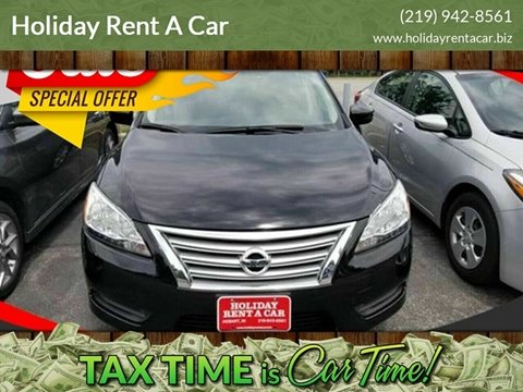 2015 Nissan Sentra for sale at Holiday Rent A Car in Hobart IN