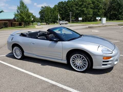2003 Mitsubishi Eclipse Spyder for sale in Star City, AR