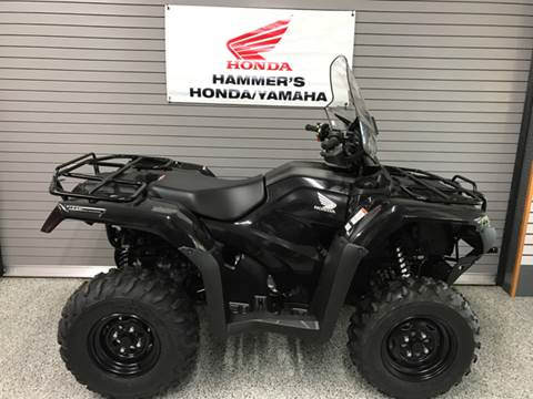 2017 Honda TRX420FA6 for sale at HAMMERS HONDA YAMAHA in Mobridge SD