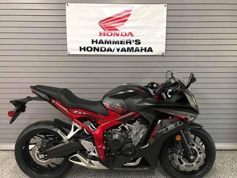 2016 Honda CBR650F for sale at HAMMERS HONDA YAMAHA in Mobridge SD