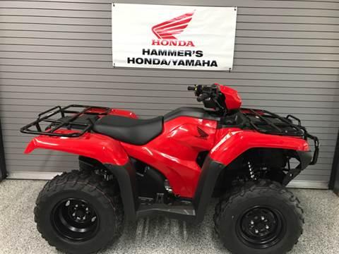2017 Honda TRX500FE for sale in Mobridge, SD