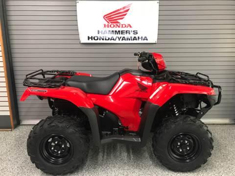 2018 Honda TRX500FA6 for sale in Mobridge, SD