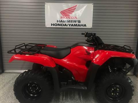2017 Honda TRX420FA2 for sale in Mobridge, SD