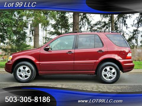 2002 Mercedes-Benz M-Class for sale in Milwaukie, OR