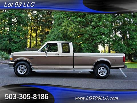 1992 Ford F-250 for sale in Milwaukie, OR