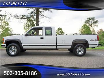 1996 Chevrolet C/K 2500 Series for sale in Milwaukie, OR