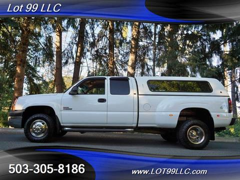 2003 Chevrolet Silverado 3500 for sale in Milwaukie, OR