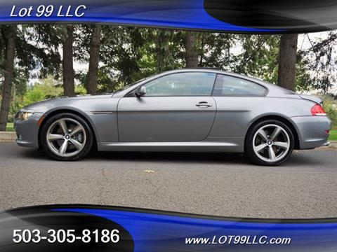 2008 BMW 6 Series for sale in Milwaukie, OR