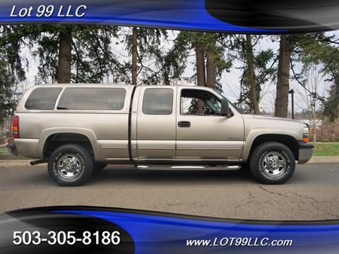 2000 Chevrolet Silverado 2500 For Sale Carsforsale Com