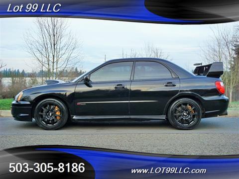 2005 Subaru Impreza For Sale At LOT 99 LLC In Milwaukie OR