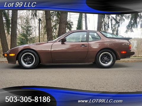 1985 Porsche 944 for sale in Milwaukie, OR