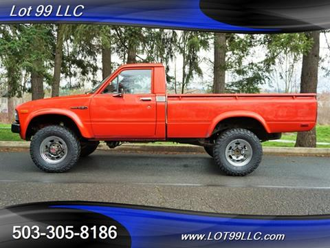 1982 Toyota Truck >> 1982 Toyota Pickup For Sale In Milwaukie Or