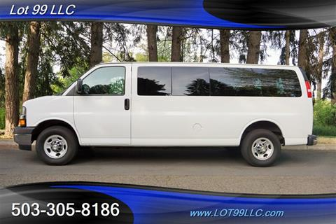 2018 Chevrolet Express Passenger for sale in Milwaukie, OR