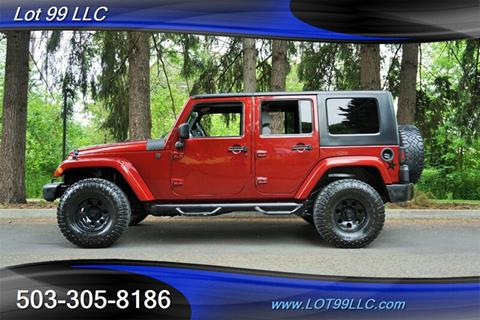 2008 Jeep Wrangler Unlimited for sale in Milwaukie, OR