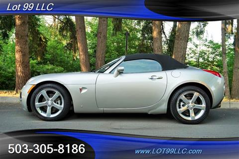 2007 Pontiac Solstice for sale in Milwaukie, OR