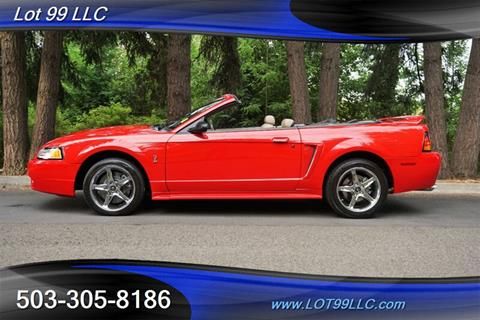 1999 Ford Mustang SVT Cobra for sale in Milwaukie, OR