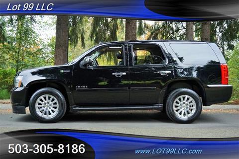 2013 Chevrolet Tahoe Hybrid for sale in Milwaukie, OR
