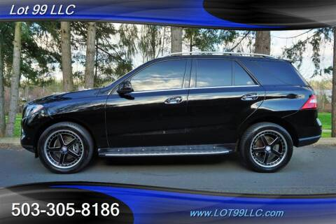 2013 Mercedes-Benz M-Class ML 350 4MATIC for sale at LOT 99 LLC in Milwaukie OR