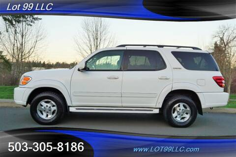 2002 Toyota Sequoia Limited for sale at LOT 99 LLC in Milwaukie OR