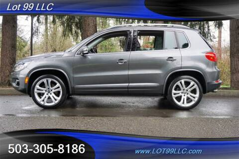 2013 Volkswagen Tiguan for sale at LOT 99 LLC in Milwaukie OR