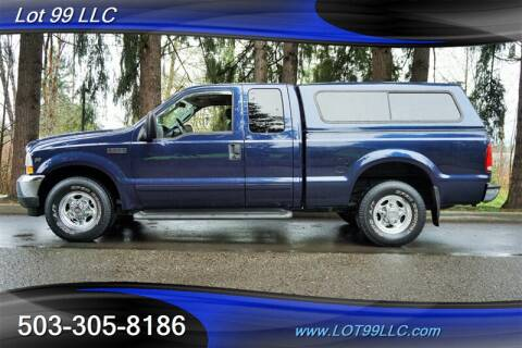 2003 Ford F-250 Super Duty for sale at LOT 99 LLC in Milwaukie OR