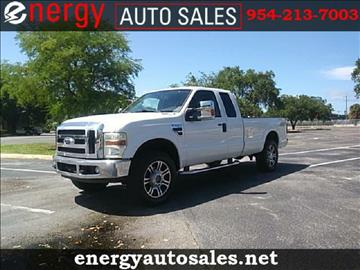 2008 Ford F-250 Super Duty for sale in Wilton Manors, FL
