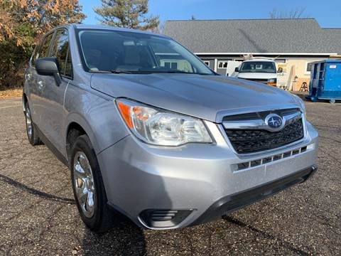 2016 Subaru Forester for sale in Davison, MI