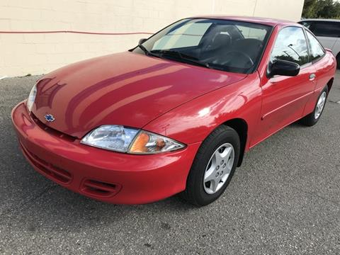 2002 Chevrolet Cavalier for sale in Clinton Township, MI