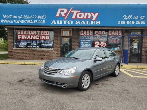 2007 Chrysler Sebring for sale at R Tony Auto Sales in Clinton Township MI