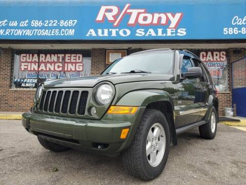 2006 Jeep Liberty for sale at R Tony Auto Sales in Clinton Township MI