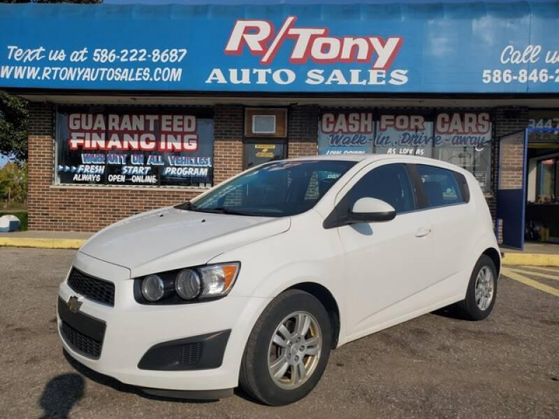 2013 Chevrolet Sonic for sale at R Tony Auto Sales in Clinton Township MI