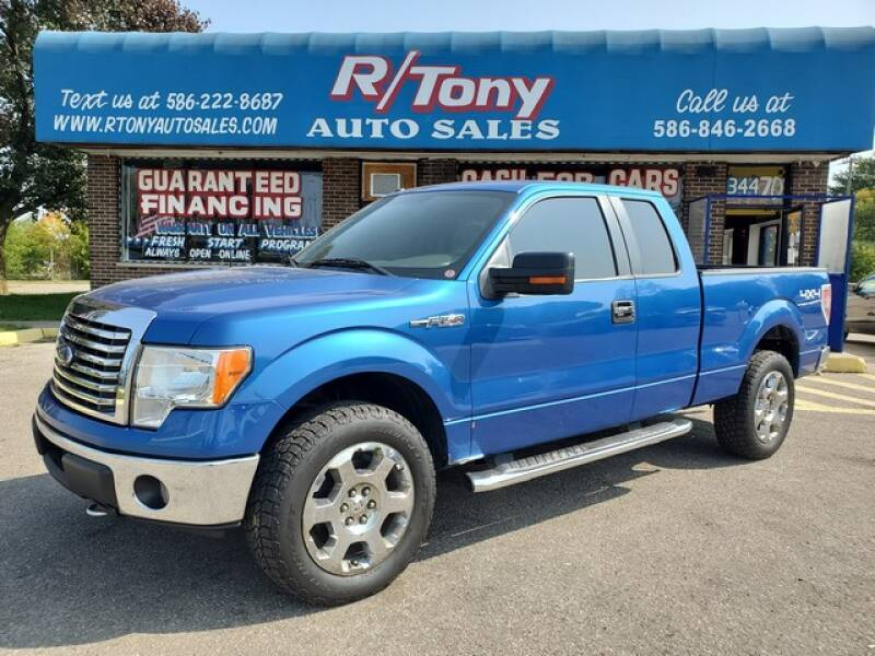 2010 Ford F-150 for sale at R Tony Auto Sales in Clinton Township MI