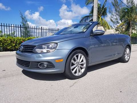 2012 Volkswagen Eos for sale in Hollywood, FL