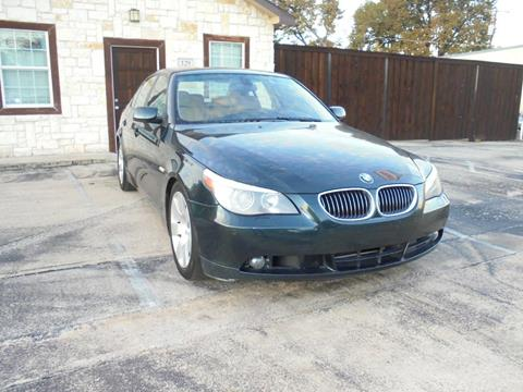 2007 BMW 5 Series for sale in Garland, TX