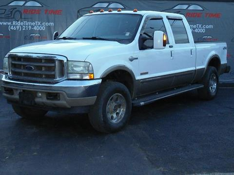 2004 Ford F-250 Super Duty for sale in Garland, TX
