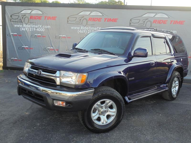2002 Toyota 4Runner For Sale At RIDETIME In Garland TX