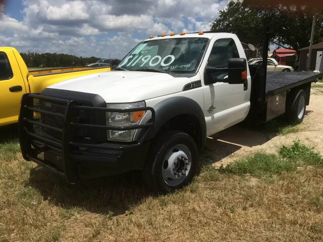 2013 Ford F-550 for sale at Knight Motor Company in Bryan TX