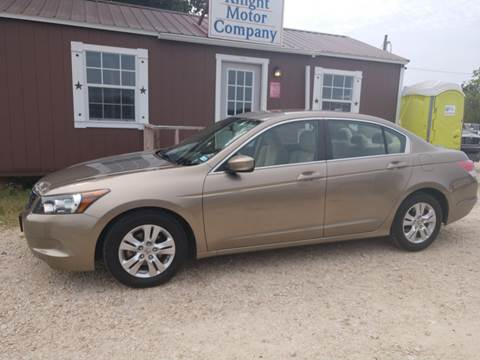 2010 Honda Accord for sale at Knight Motor Company in Bryan TX