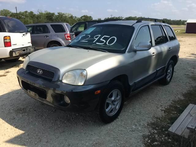 2003 Hyundai Santa Fe For Sale At Knight Motor Company In Bryan TX