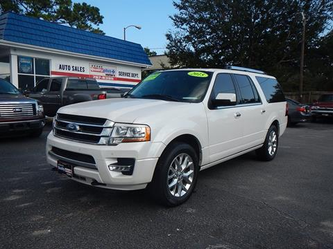 2015 Ford Expedition EL for sale in Charleston, SC