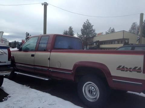 1989 Chevrolet Silverado 1500 for sale in Loon Lake, WA
