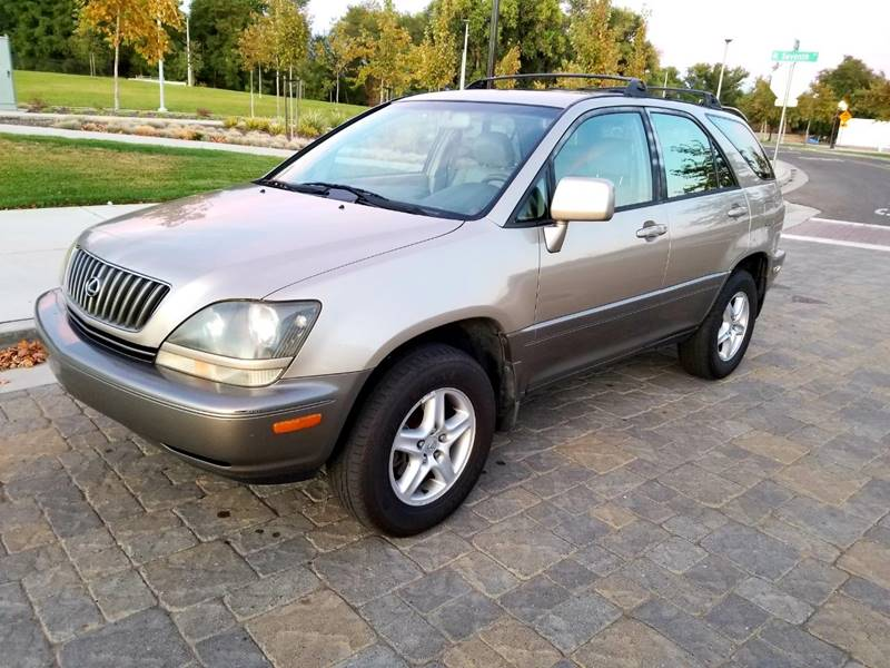 1999 Lexus RX 300 For Sale At Lux Global Auto Sales In Sacramento CA