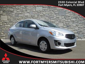 2017 Mitsubishi Mirage G4 for sale in Fort Myers, FL