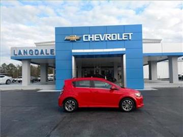 2017 Chevrolet Sonic for sale in Moultrie GA