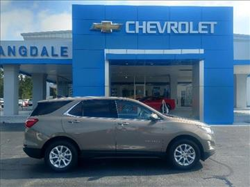 2018 Chevrolet Equinox for sale in Moultrie GA