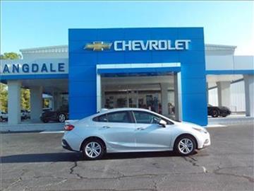 2017 Chevrolet Cruze for sale in Moultrie GA
